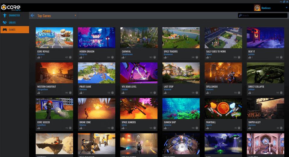 Game Browsing