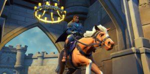 Rider at Gate