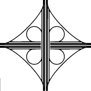 Diagram of a Cloverleaf Intersection